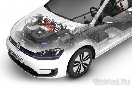 ������������� Volkswagen e-Golf ��� ����� ����������