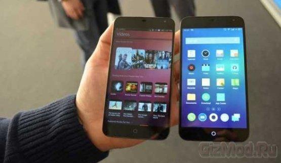 Смартфонам с ОС Ubuntu Phone обещают ценник в $200-400