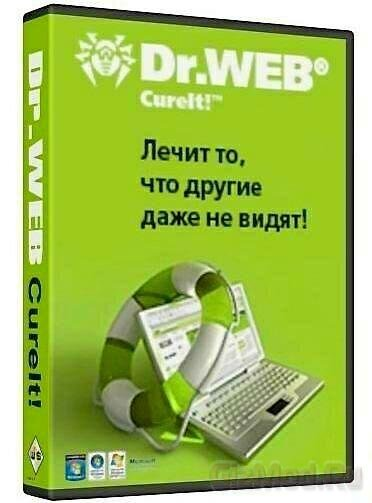 Dr.Web CureIT 9.05 (14.04.2014) - бесплатный антивирус