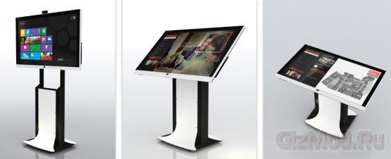 Телевизор-компьютер Apek Maxpad под управлением Windows 8