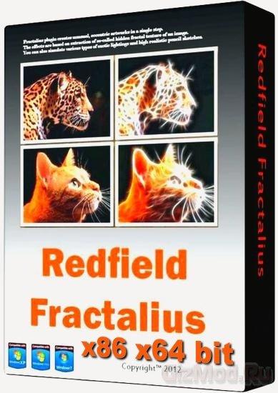 Redfield Fractalius 2.01 - ������ ��� Photoshop