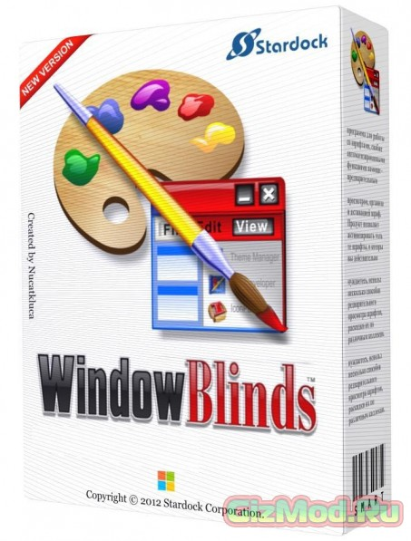 WindowBlinds 8.05 - креативный интеофейс Windows