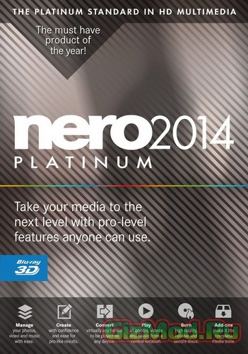 Nero 2014 Platinum 15.0.0850 Final - ������ ������� ��� ������ ������.