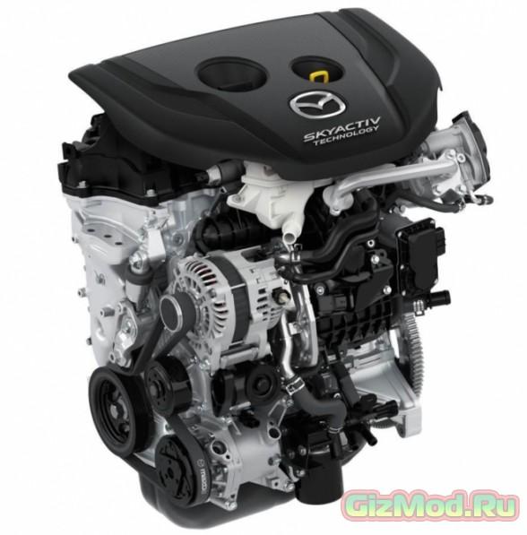 Новый дизельный двигатель Mazda Skyactiv