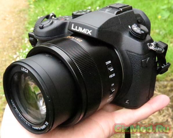 Panasonic Lumix FZ1000 суперзум с поддержкой Ultra HD видео