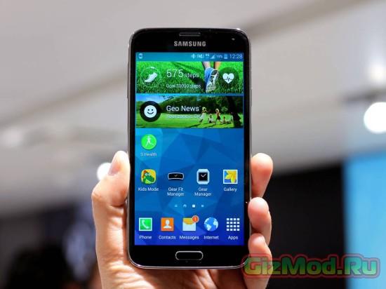 Samsung представила на родине cмартфон с QHD дисплеем