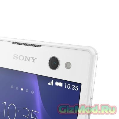 """Sony немножко запоздала с """"селфи""""-телефоном Xperia C3"""