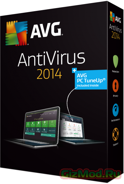 AVG Anti-Virus 2014 Free 4744 - отличный бесплатный антивирус