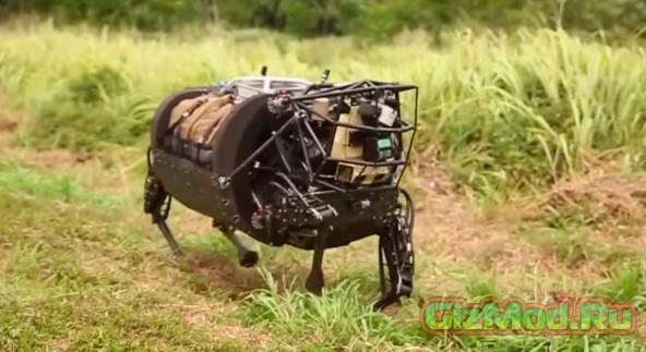 Американские солдаты тестировали робота-осла