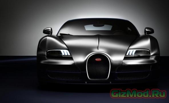 Новый Bugatti Veyron: 2,3 секунды с нуля до сотни