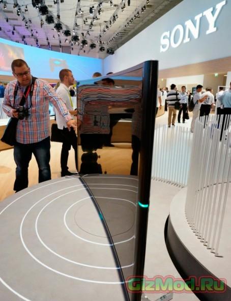 Sony Bravia новые телевизоры с изогнутым 4K экраном