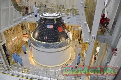 У NASA готов первый многоразовый модуль Orion