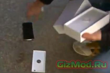 Первый iPhone 6 приземлился на асфальт прямо у магазина