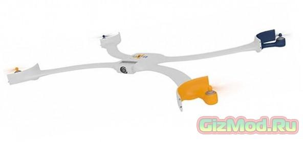 Мини дрон-браслет для автосъемки