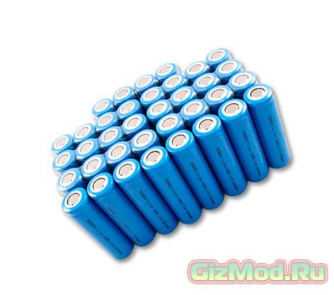 Титановые нанотрубки в аккумуляторах, для быстрой подзарядки
