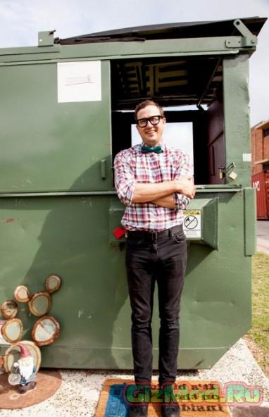 Жизнь в мусорном контейнере