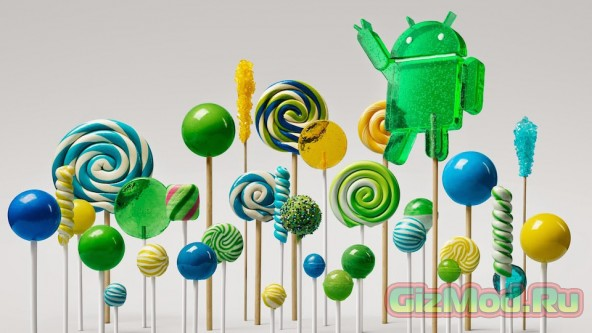 ������� �� Google � ����� ������ Android 5.0 Lollipop