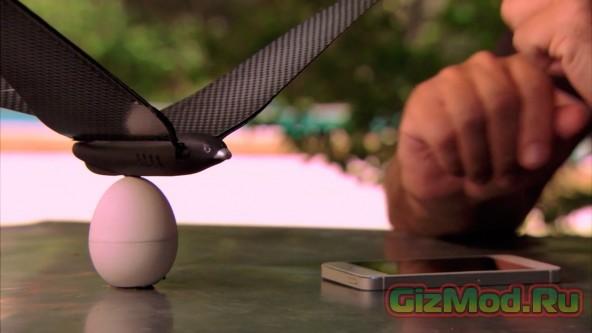Бионическая птица под управлением смартфона