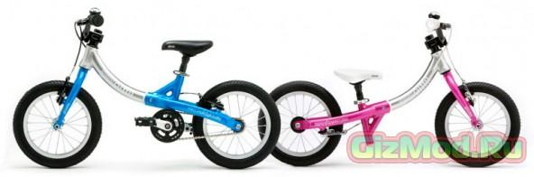 Велосипед LittleBig «растет» вместе с ребенком