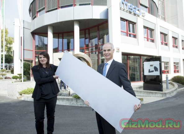 Первые в мире белые солнечные батареи