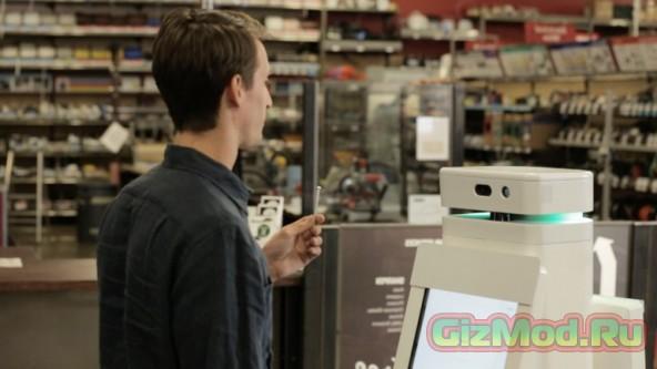 Робот-консультант поможет в выборе товара
