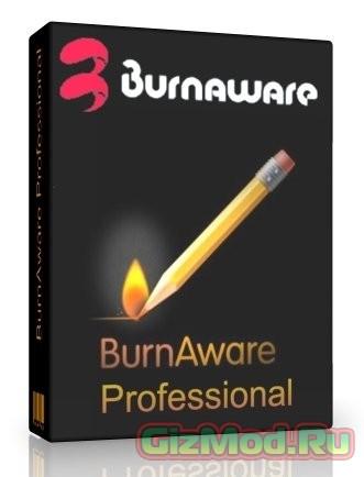 BurnAware Free 7.6 Beta - простая запись дисков