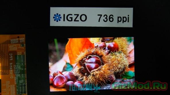 IGZO-дисплей от Sharp 2560х1600 точек на 4,1 дюйма
