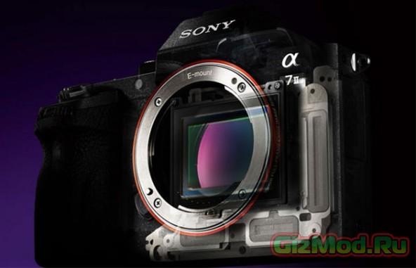 Пять осей стабилизации в беззеркалке Sony A7 II