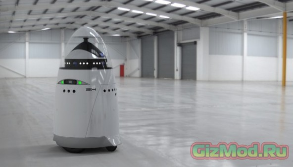 Робот-охранник с душой Бэтмана и телом R2-D2