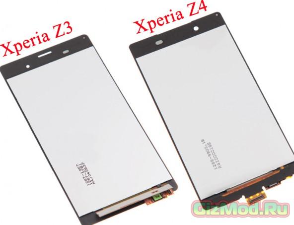 ����� � Sony Xperia Z4