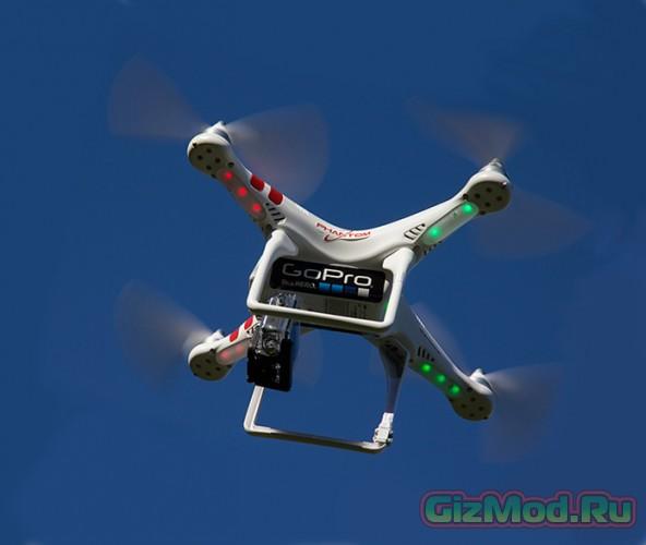 Дроны от GoPro с встроенной экнш-камерой