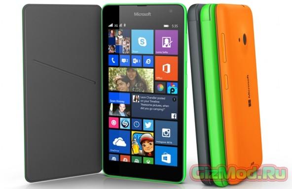 Microsoft Lumia 535 � ������ �� ���� � 8000 �.