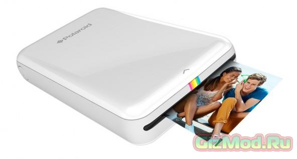 Мини-принтер  Polaroid Zip