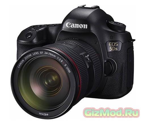 Canon 5Ds получит 50,6-Мп сенсор