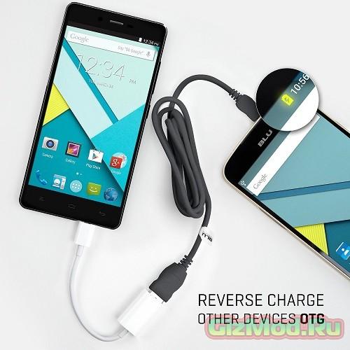 Смартфон BLU Studio Energy зарядит другие смартфоны