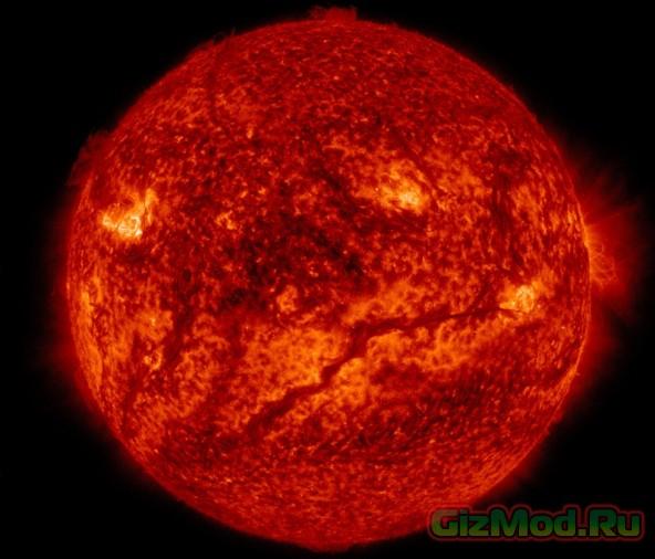 Жизнь солнца глазами обсерватории SDO