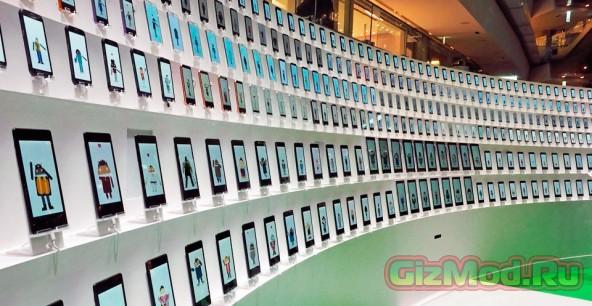«Ода радости» Бетховена в исполнении 300 Android-устройств