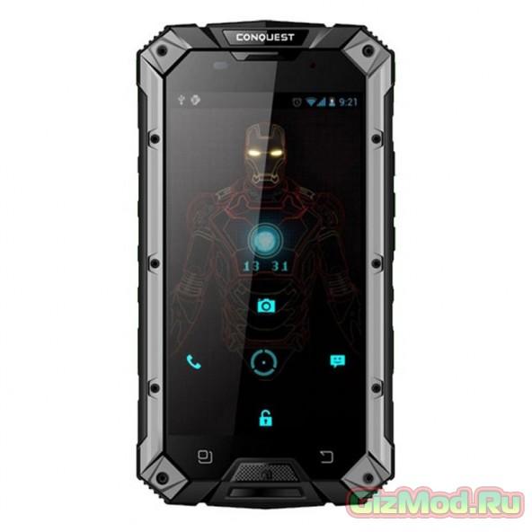 Смартфон Conquest S6 - китайская защита