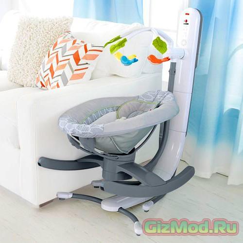 Кресло-качалка для детей с дистанционным управлением