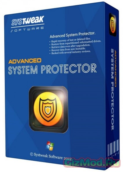 Advanced System Protector 2.1.1000.14996 - �������� ������������ � ����������� Windows