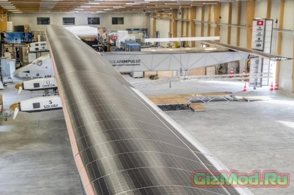 Кругосветное путешествие Solar Impulse 2