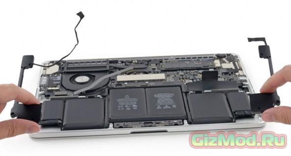 ����� MacBook Pro ����������� ����������� iFixit