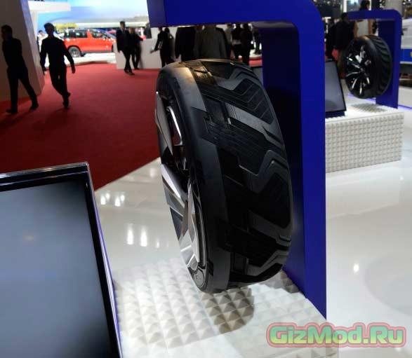 Покрышка для зарядки электромобиля