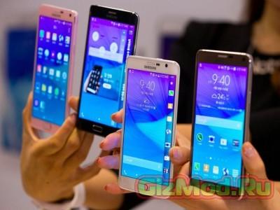 Смартфоны Galaxy S6 и Galaxy S6 Edge в Москве