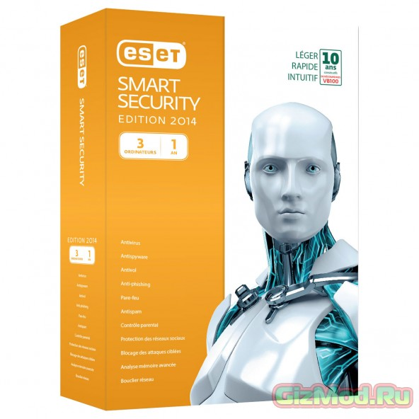 ESET Smart Security 8.0.312.3 Rus - ������������ ������