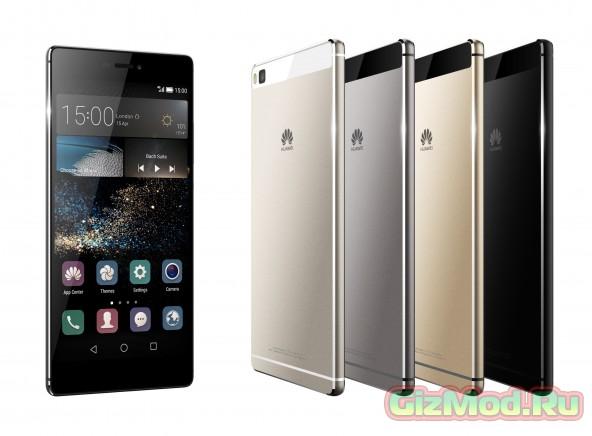 "Новый 6,8"" флагман Huawei P8 Max"