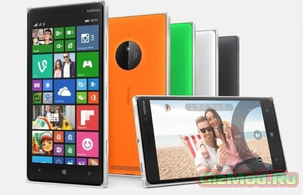 Четыре PureView-новинки от Microsoft на подходе