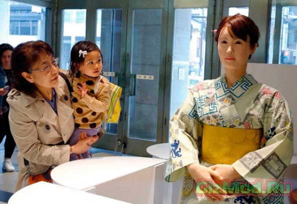 Toshiba разработала человекоподобного робота Aiko Chihira