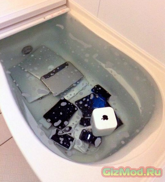 Ванна для яблочных гаджетов