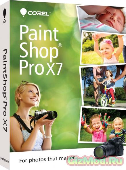 Corel Paintshop Pro X7 v17.2.0.17e - профредактор графики и фото